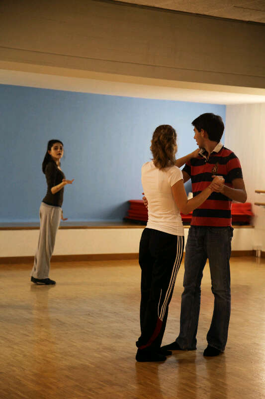Teaching a class..in Tango/HipHop