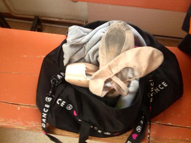 My ballet bag!