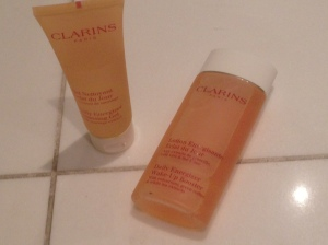 Clarins Daily Energizer Cleansing Gel and Wake-Up Booster Tonic