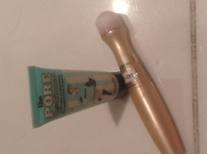 Garnier Concealer roll on and Benefit Pore-fessional