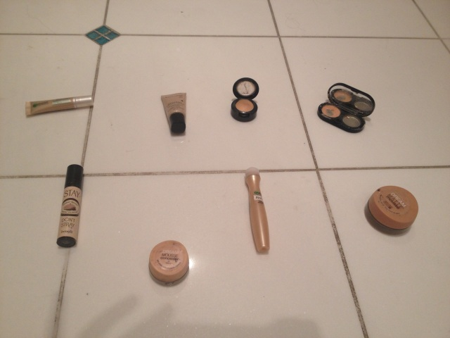 My current, most-used concealers